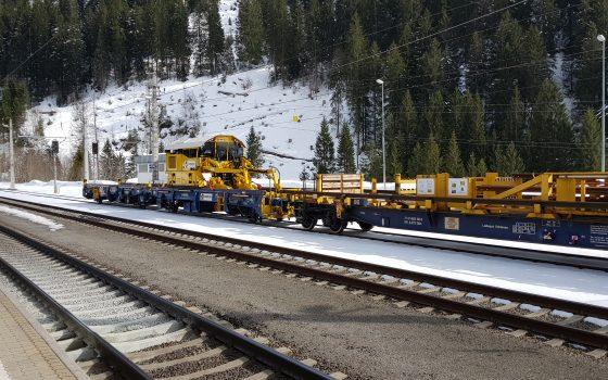 Streckensperre auf der Arlbergbahn