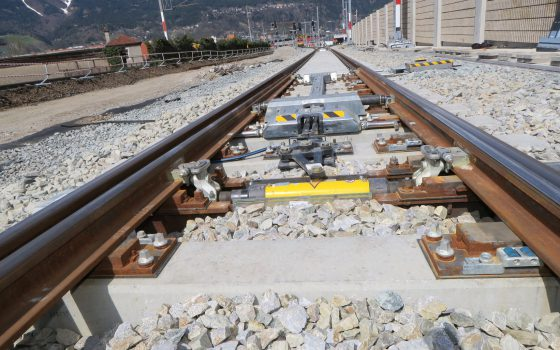 Baumaßnahmen auf der Arlbergstrecke