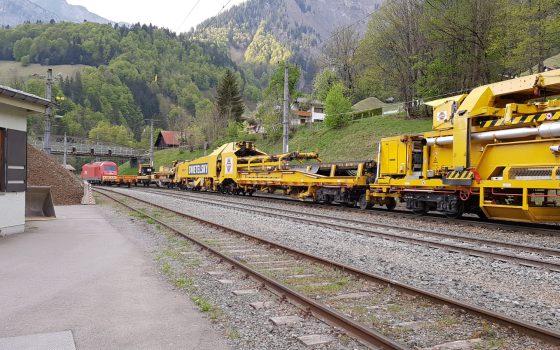 Instandhaltungsarbeiten auf der Arlbergbahn